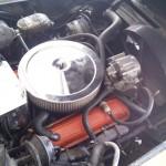 Engine Corvette 69 Gold-Saddle