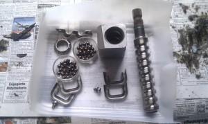 Lenkgetriebe C3 Zerlegt